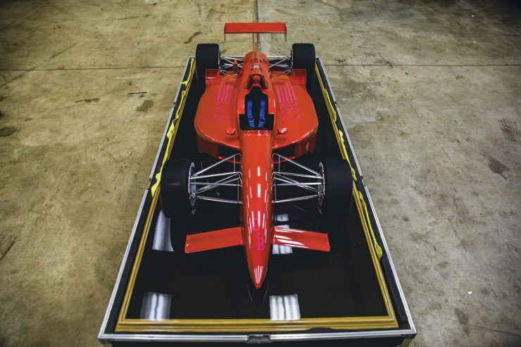 Indycar Wind Tunnel Car Model Front