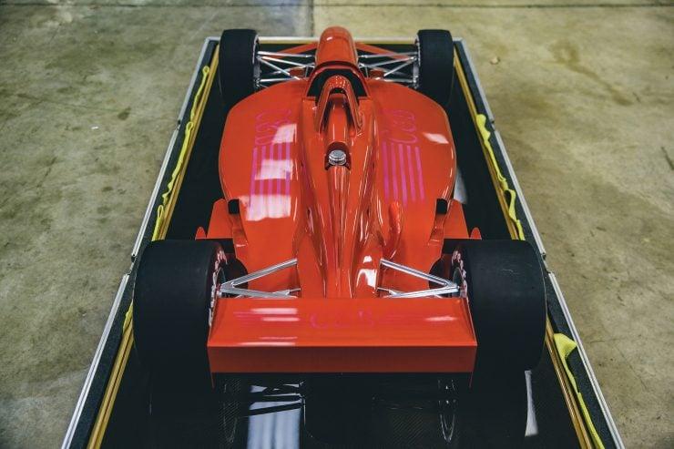 Indycar Wind Tunnel Car Model Rear