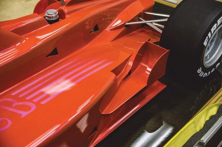 Indycar Wind Tunnel Car Model Rear Body