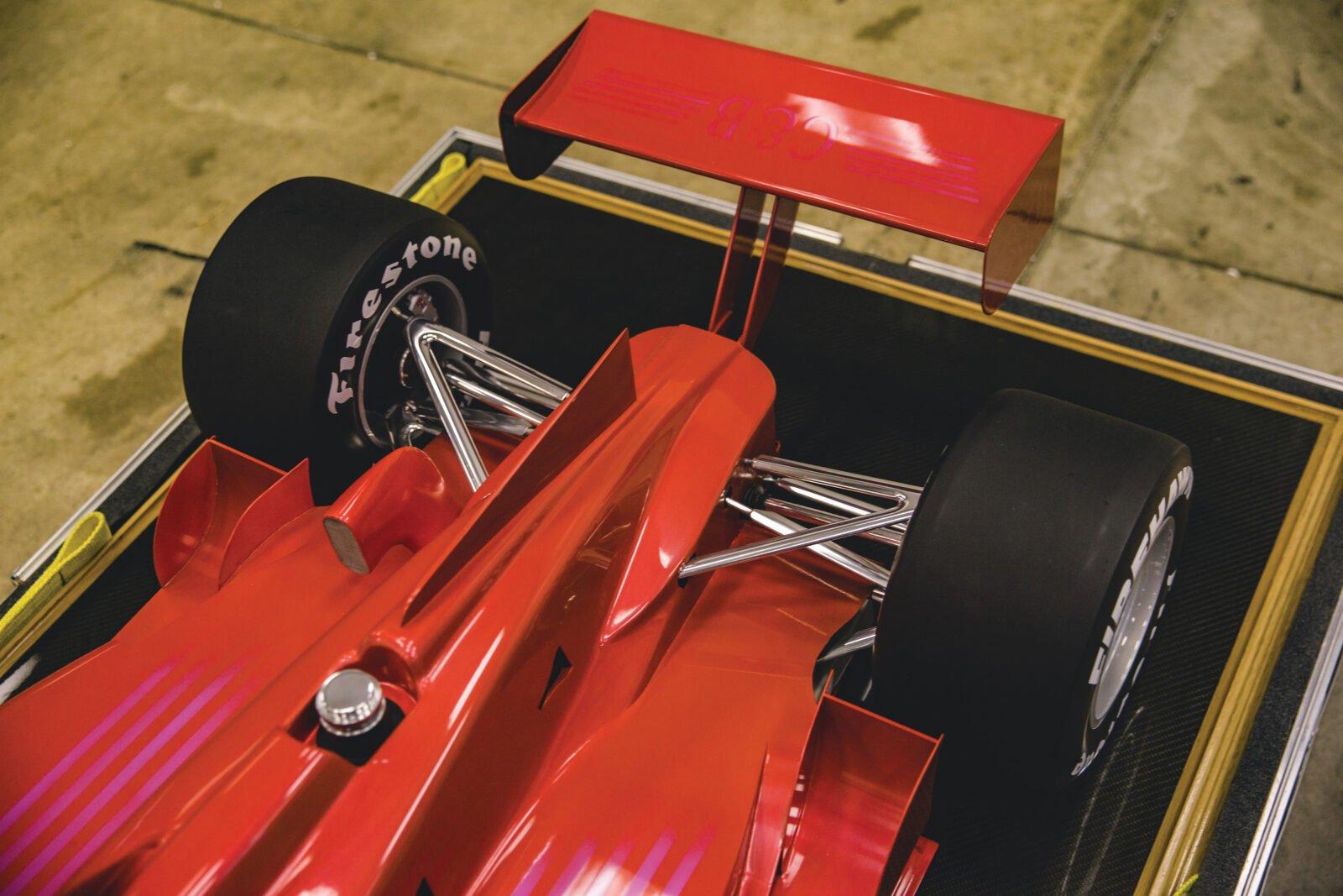 Indycar Wind Tunnel Car Model Rear Suspension 2