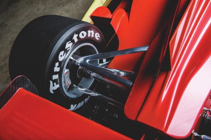 Indycar Wind Tunnel Car Model Rear Suspension