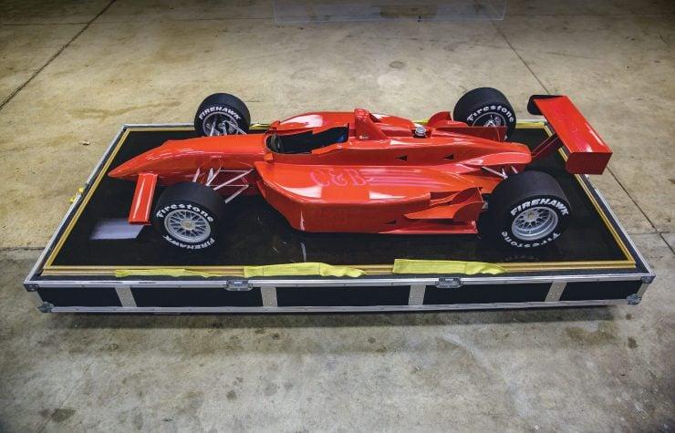 Indycar Wind Tunnel Car Model Side