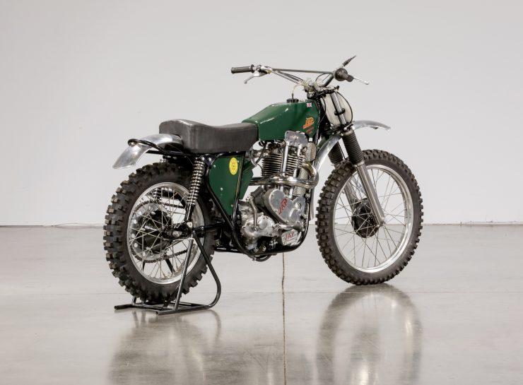 JAP BSA Motocross Motorcycle 10