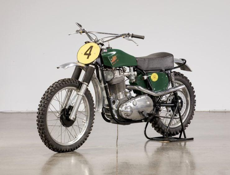 JAP BSA Motocross Motorcycle 2
