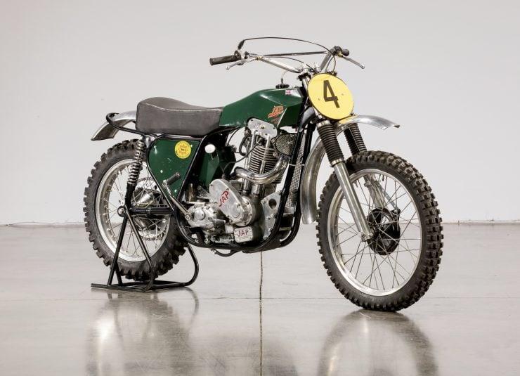 JAP BSA Motocross Motorcycle 3