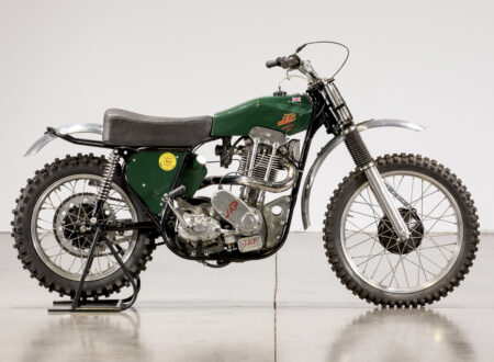 JAP BSA Motocross Motorcycle