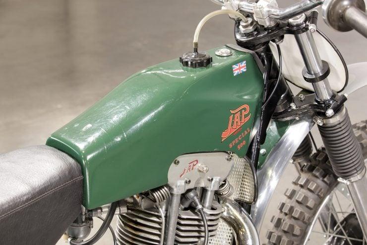 JAP BSA Motocross Motorcycle 7
