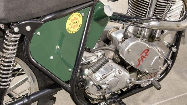 JAP BSA Motocross Motorcycle 8