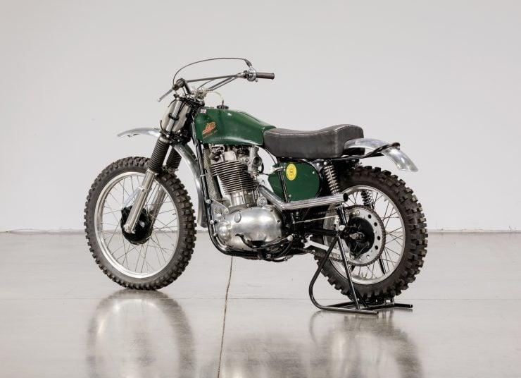 JAP BSA Motocross Motorcycle 9
