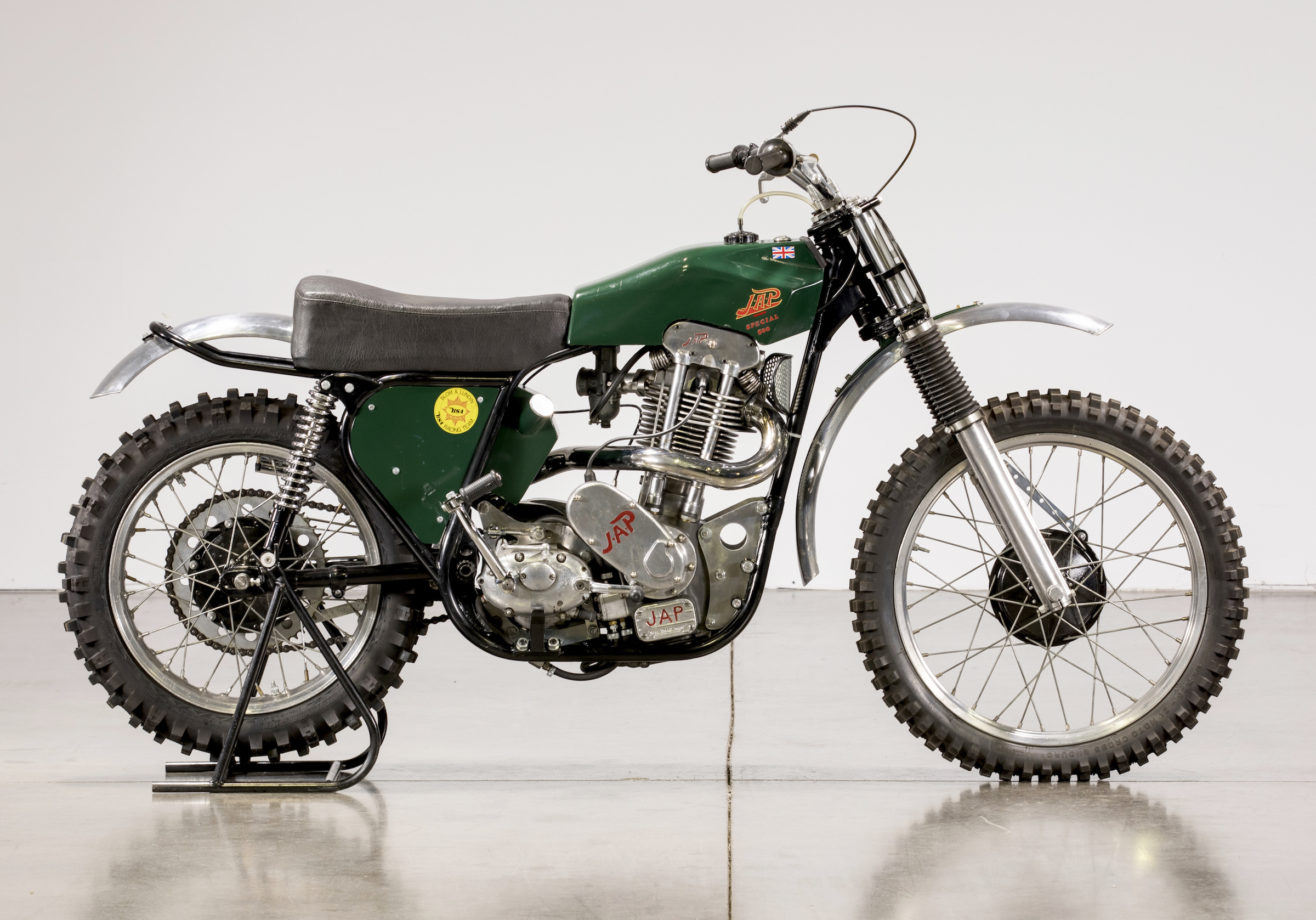 JAP BSA Motocross Motorcycle
