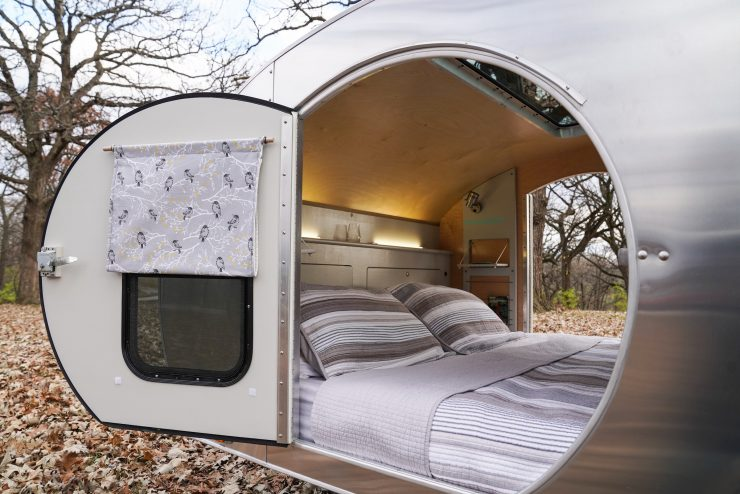 MONNOM Ghost Teardrop Camper Interior