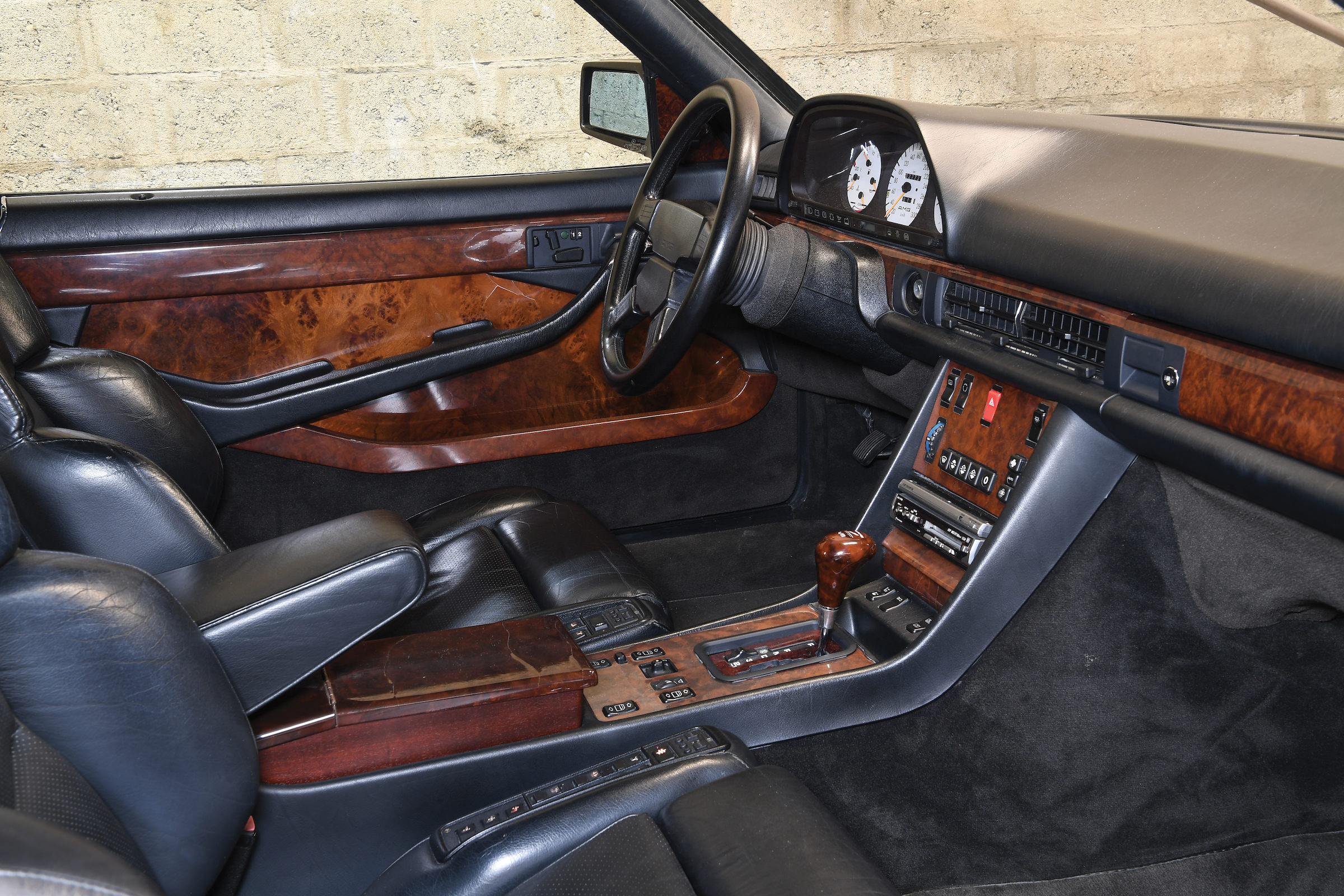 Mercedes-Benz 560 SEC AMG 6 0 Wide-Body - 385 HP German GT