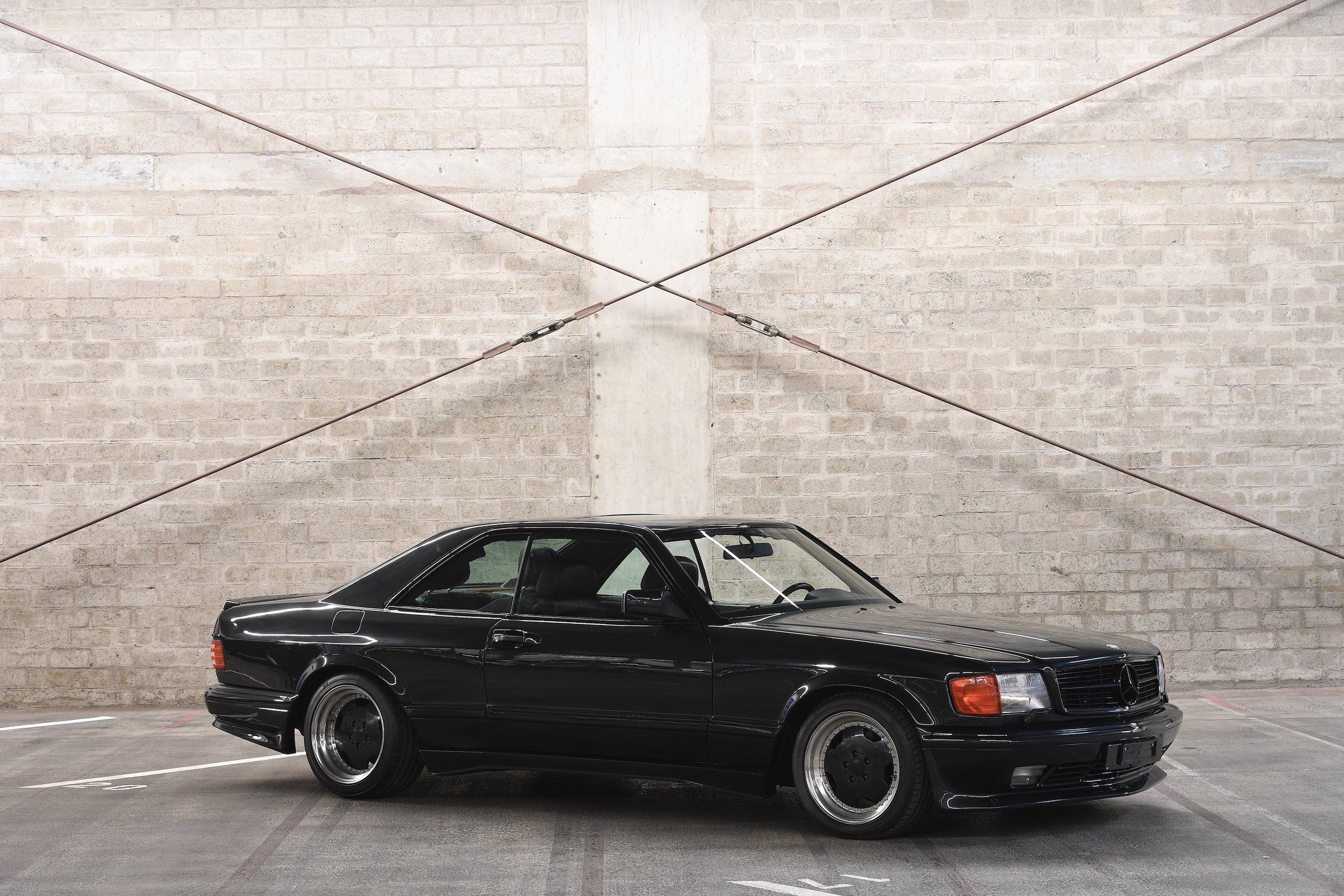 mercedes benz 560 sec amg 6 0 wide body 385 hp german gt. Black Bedroom Furniture Sets. Home Design Ideas