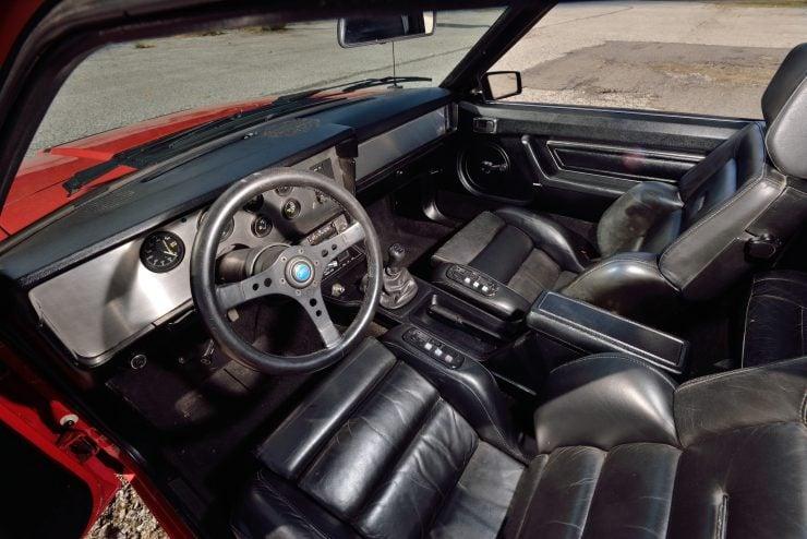 Mercury Cosworth Capri Interior