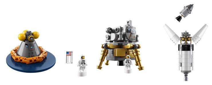 NASA Apollo Saturn V Rocket Lego Kit 4