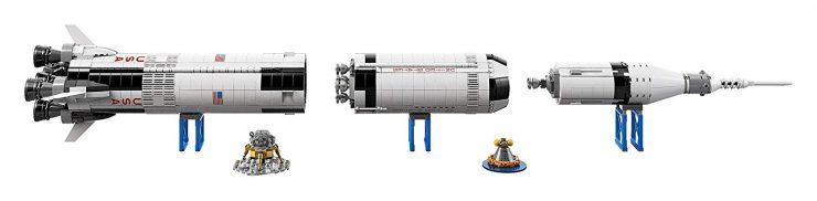 NASA Apollo Saturn V Rocket Lego Kit