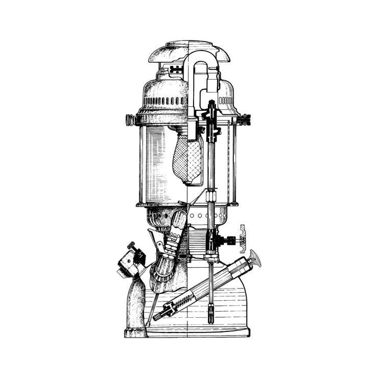 Petromax Lantern HK500 Inside