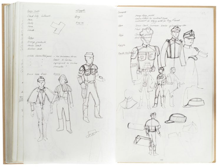 Star Wars Costume Design Sketch Book 10