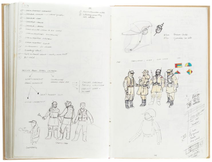 Star Wars Costume Design Sketch Book 11