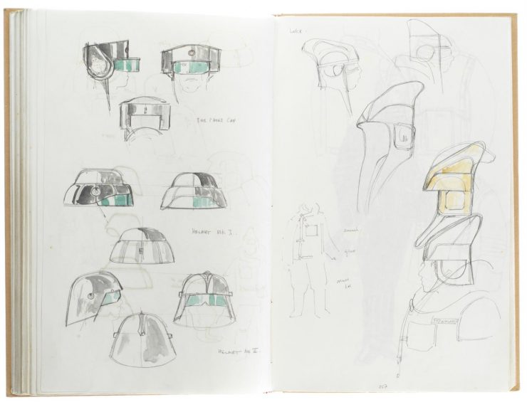 Star Wars Costume Design Sketch Book 12