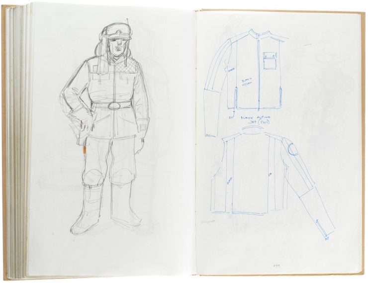 Star Wars Costume Design Sketch Book 13