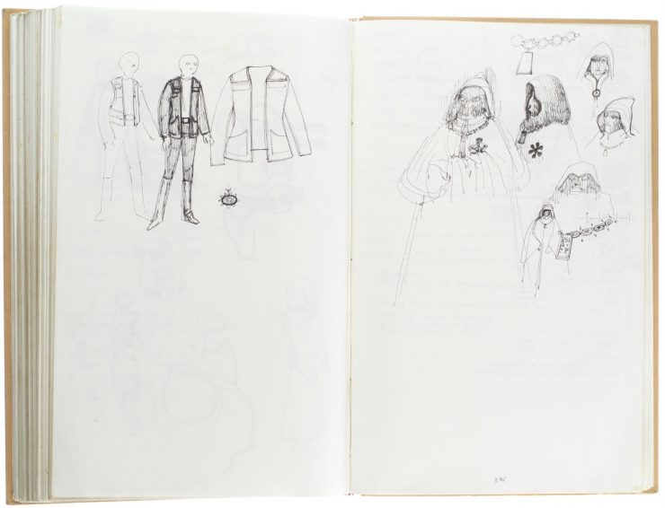 Star Wars Costume Design Sketch Book 2