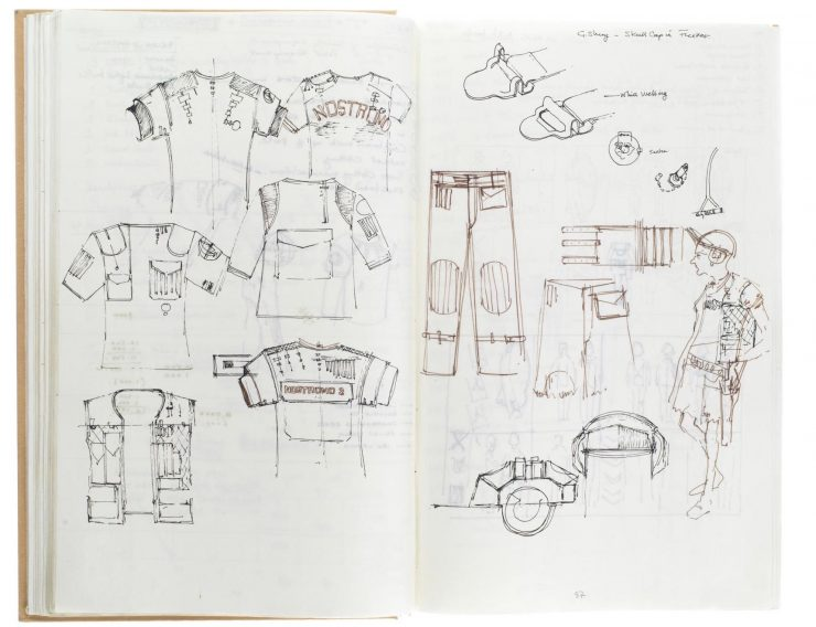 Star Wars Costume Design Sketch Book 4