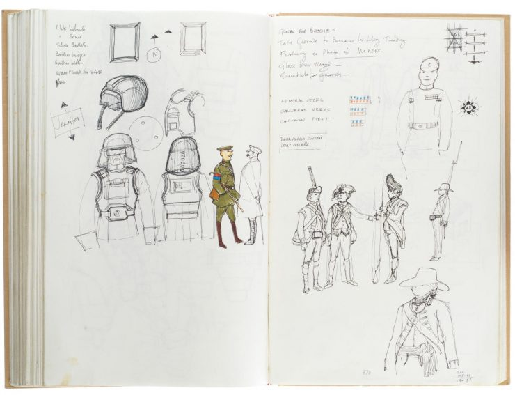 Star Wars Costume Design Sketch Book 5
