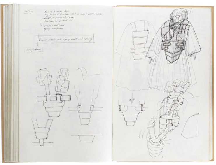 Star Wars Costume Design Sketch Book 6