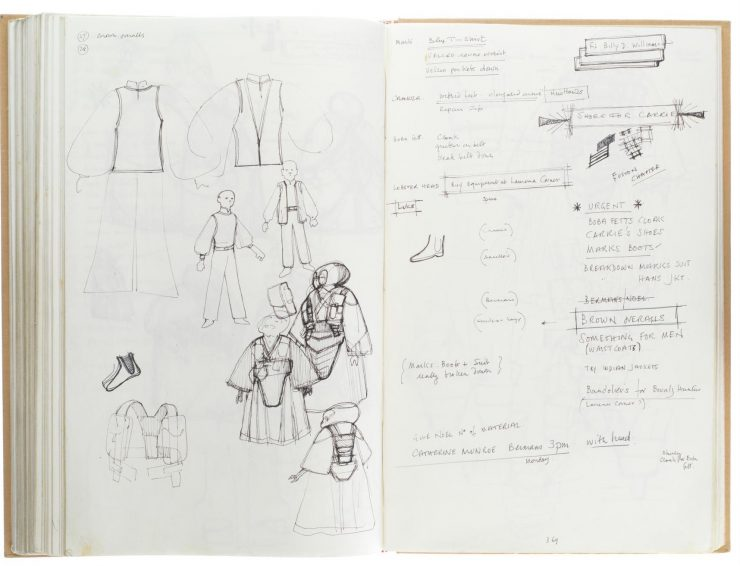 Star Wars Costume Design Sketch Book 7