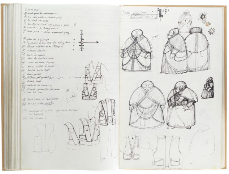 Star Wars Costume Design Sketch Book 8
