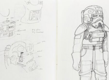 Star Wars Costume Design Sketch Book Main
