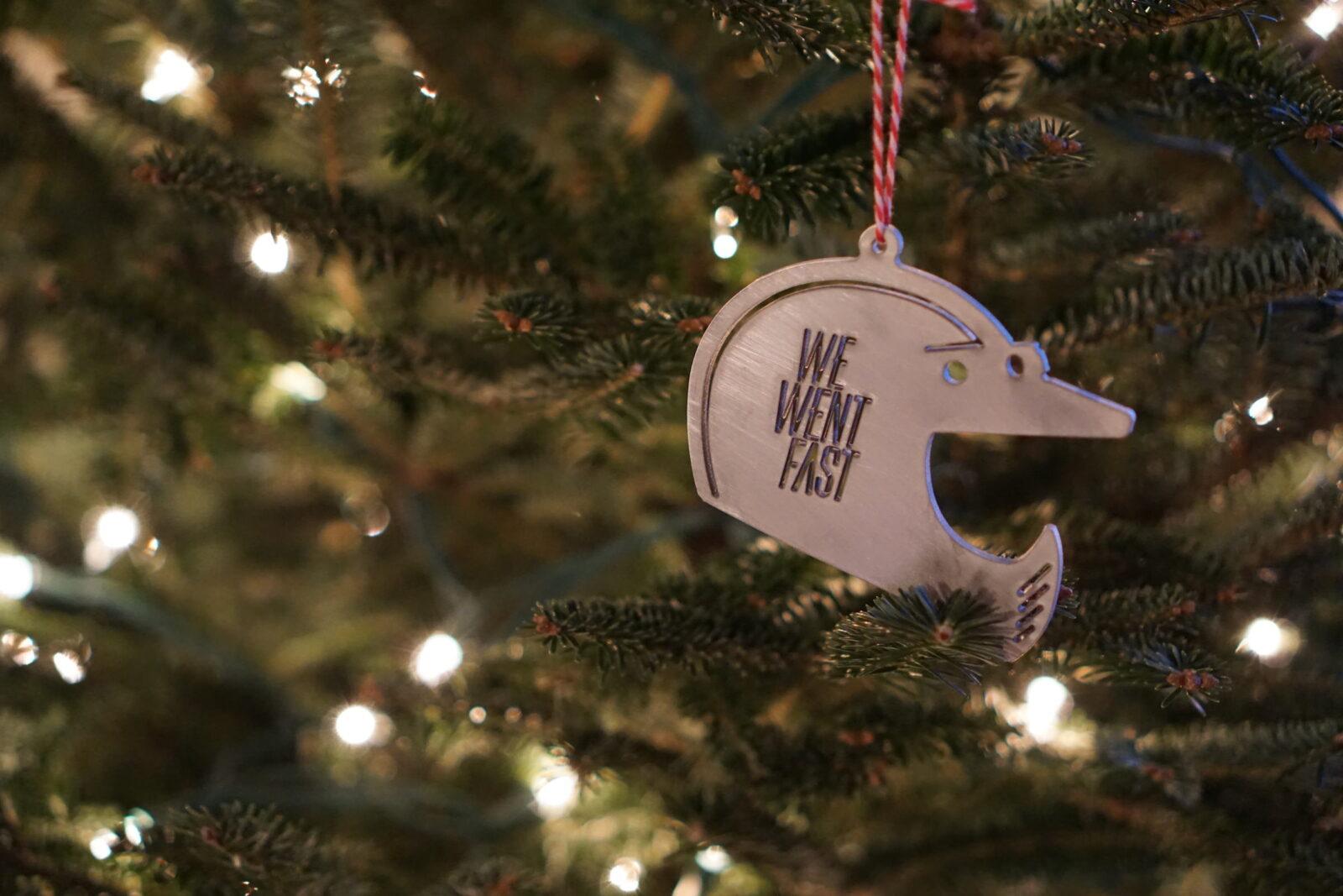 We Went Fast Helmet Bottler Opener Ornament 1600x1067 - We Went Fast - Helmet Christmas Tree Ornament + Bottler Opener