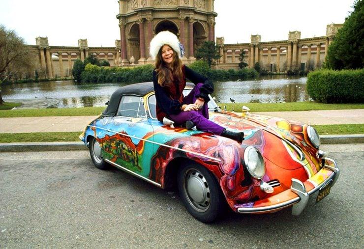 Janis Joplin Porsche 356