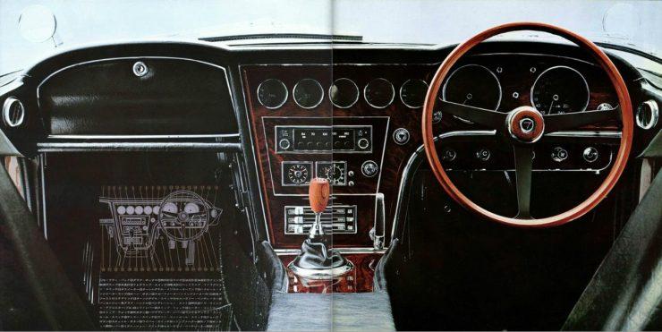 Toyota 2000GT dashboard