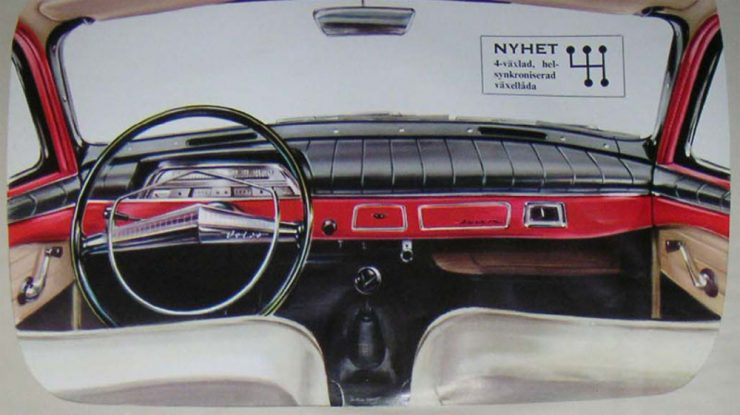 Volvo Amazon car interior