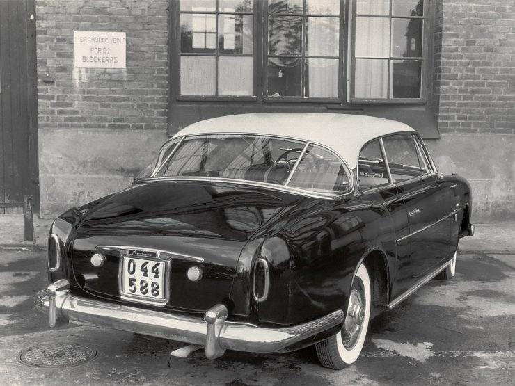 Elisabeth I Volvo prototype Gosta Wennberg Giovanni Michelotti Vignale