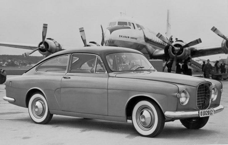 Volvo PV179 prototype car Jan Wilsgaard