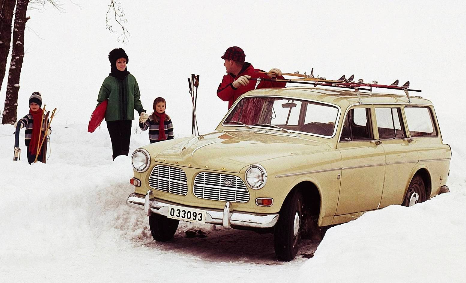 Volvo Amazon car station wagon