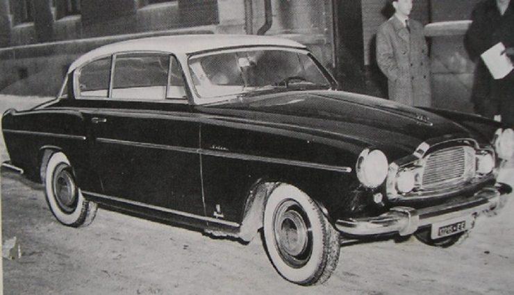 Elisabeth II Volvo prototype Gosta Wennberg Giovanni Michelotti Vignale
