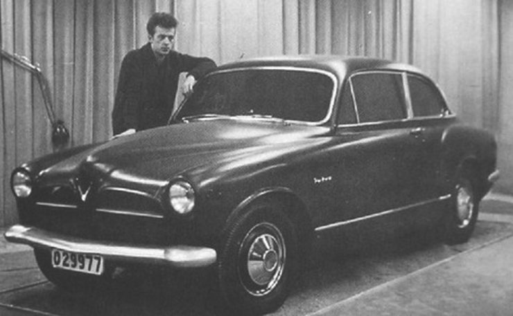 Jan Wilsgaard Volvo Amazon prototype car