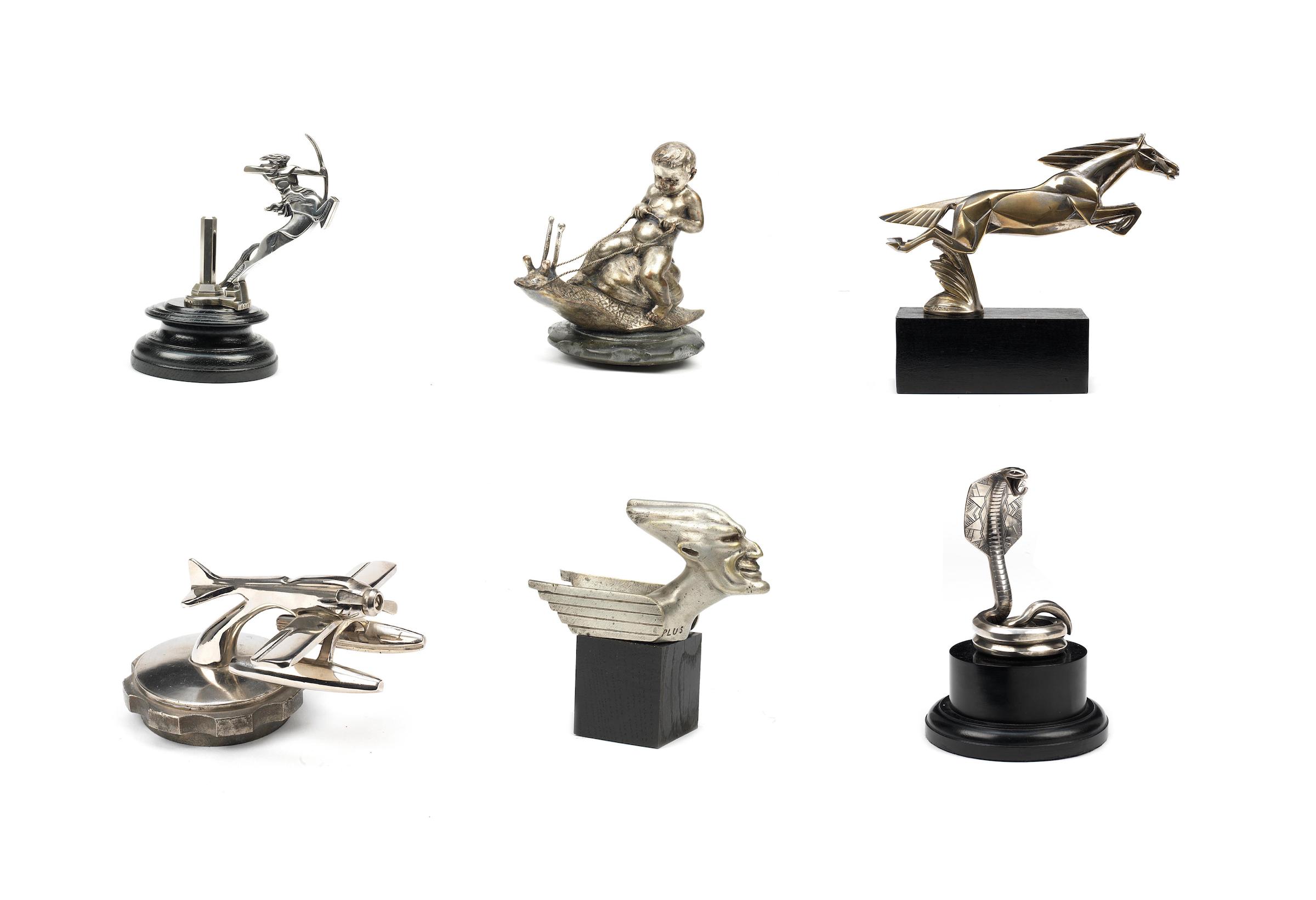 Automobile Radiator MascotS