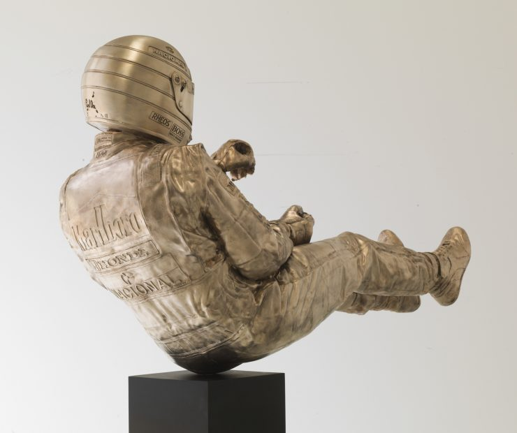 Ayrton Senna Sculpture Rear
