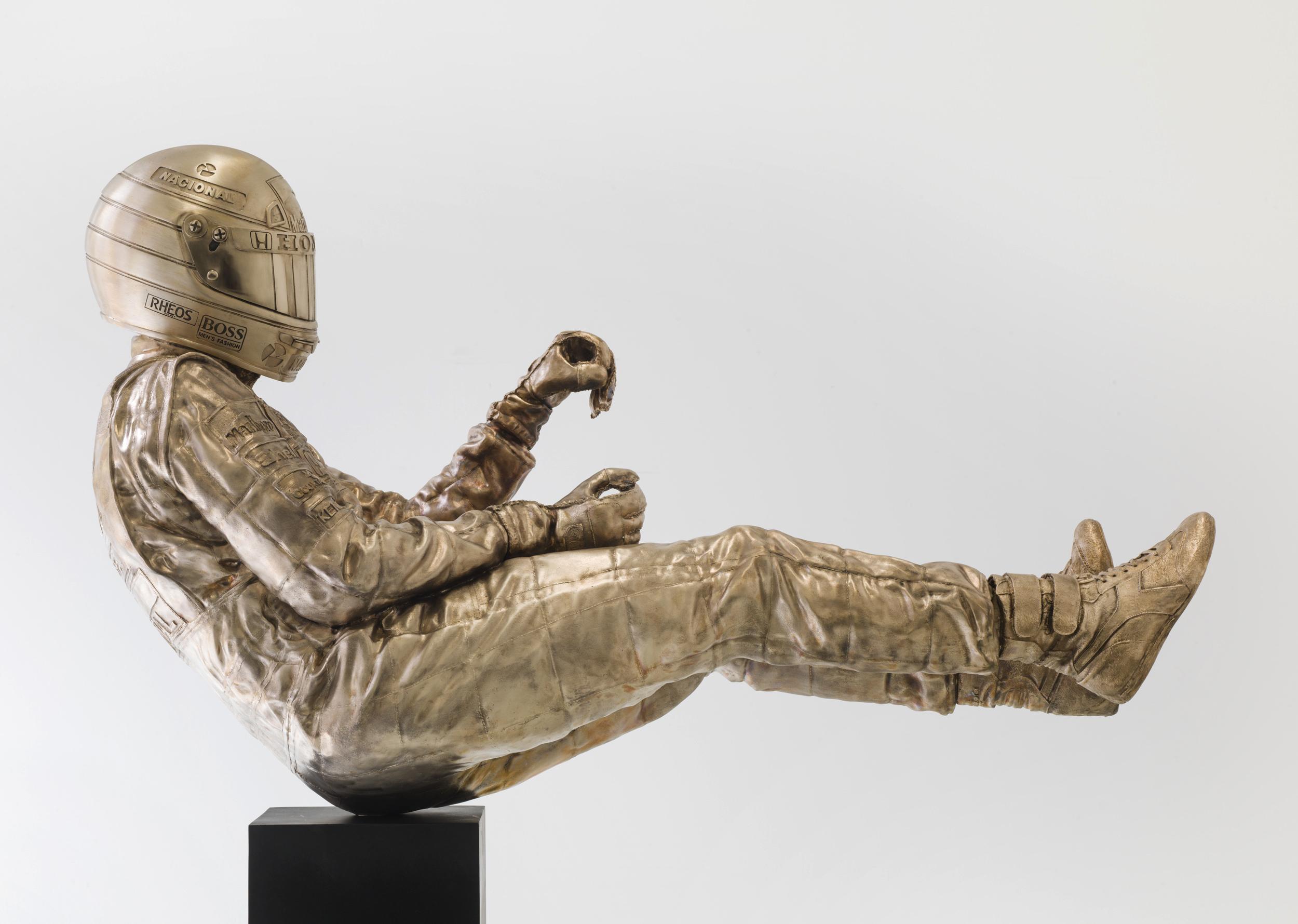 Ayrton Senna Sculpture Side