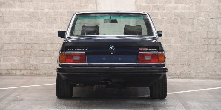 BMW Alpina B7 S Turbo Back