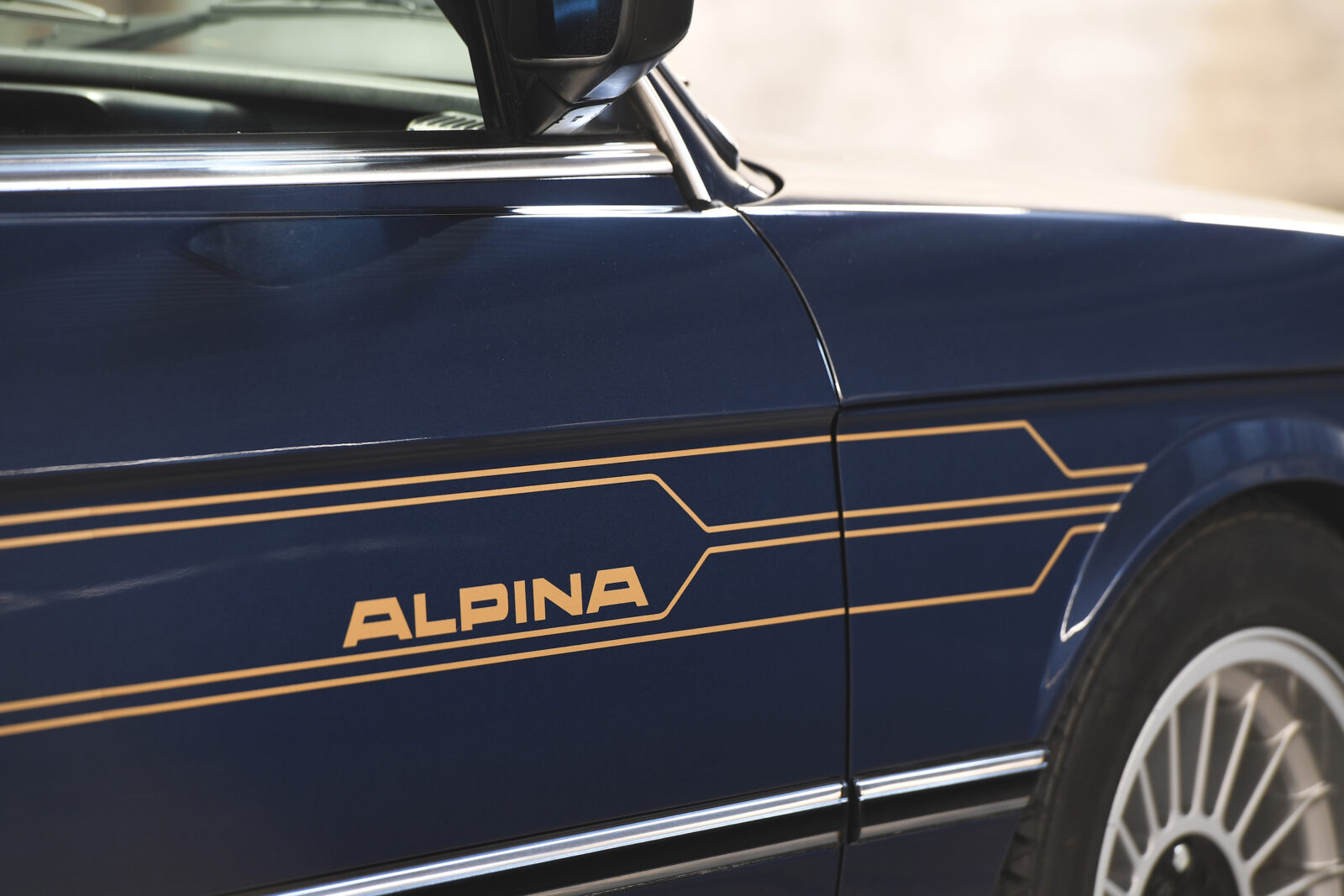 BMW Alpina B7 S Turbo Badge 2