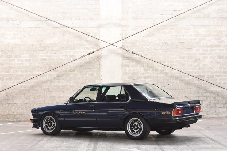 BMW Alpina B7 S Turbo Rear