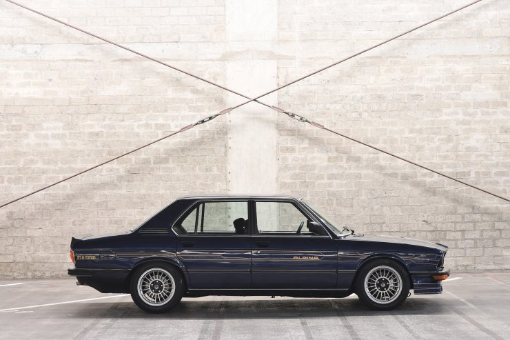 BMW Alpina B7 S Turbo Side