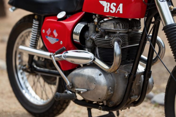 BSA Hornet A65 Engine 2