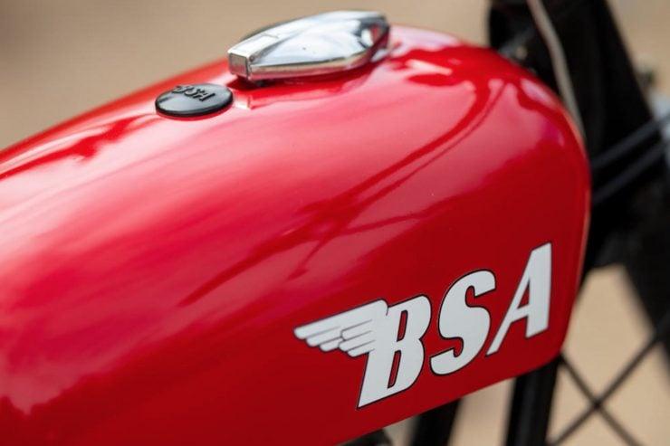 BSA Hornet A65 Fuel Tank
